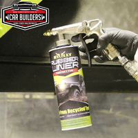 Bully Rubber Liner Paint- Black and Grey Shades