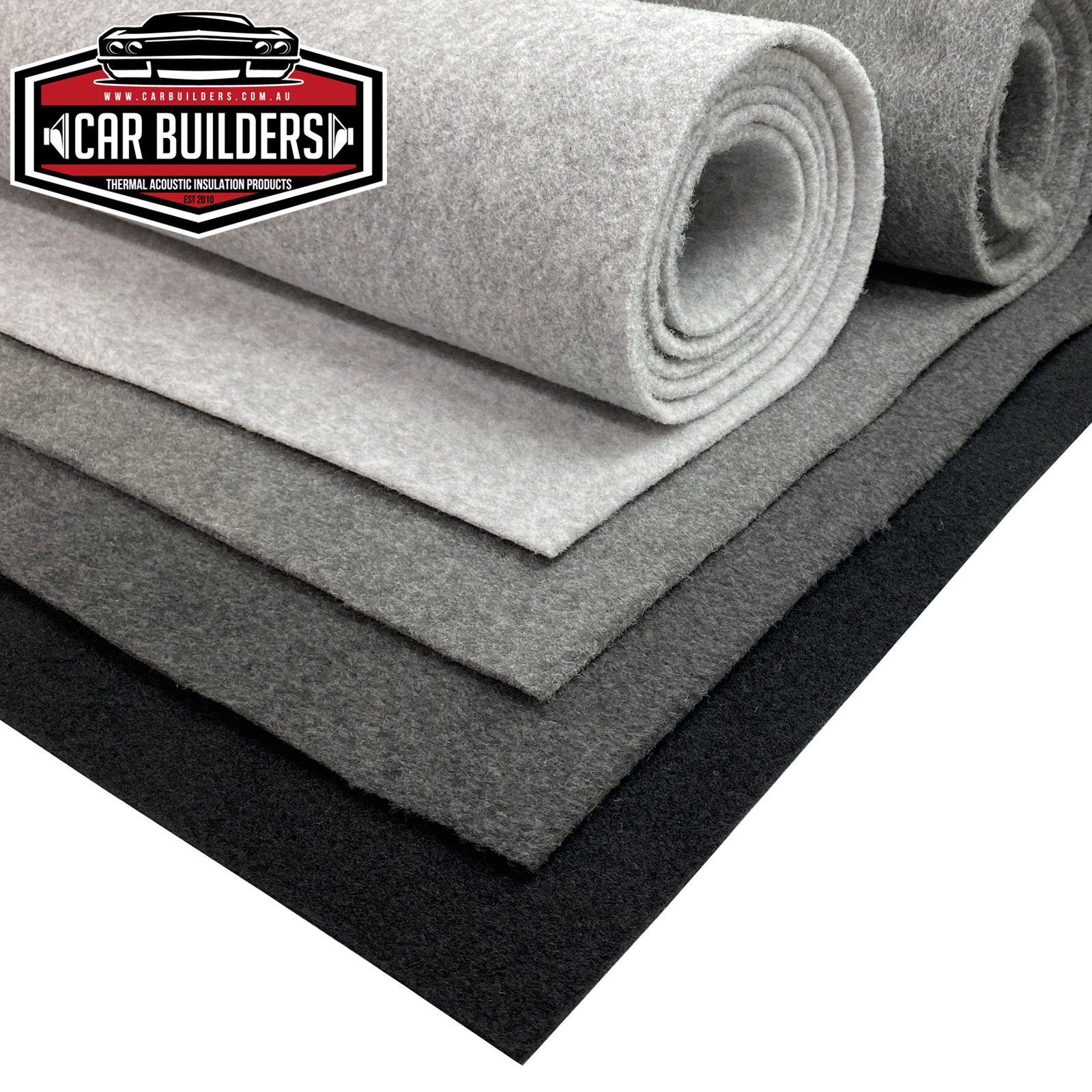 Auto Carpet - Quartz Grey