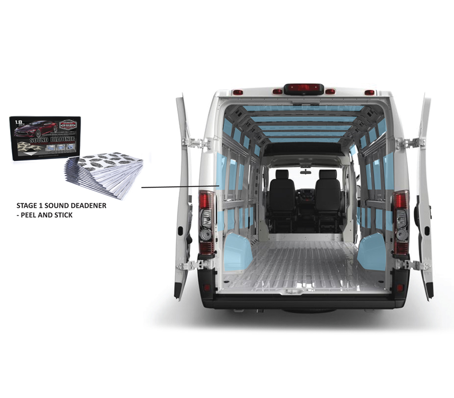How to sound proof and insulate a van